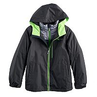 Boys 8-20 ZeroXposur Rain 3-in-1 Systems Jacket