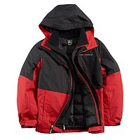 Boys 8-20 ZeroXposur Rain 3-in-1 Systems Jacket