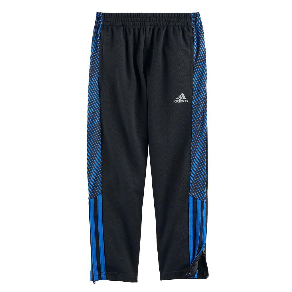 Boys 4-7x adidas Helix Vibe Striker 17 Zip Ankle Pants