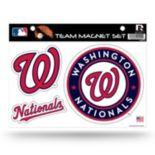 Washington Nationals Team Magnet Set