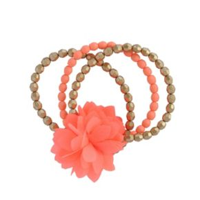 Toddler Girl Carter's 3-pk. Floral Beaded Bracelet Set