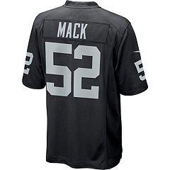 Men's Nike Oakland Raiders Khalil Mack Game NFL Replica Jersey