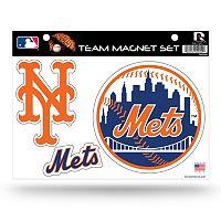 New York Mets Team Magnet Set