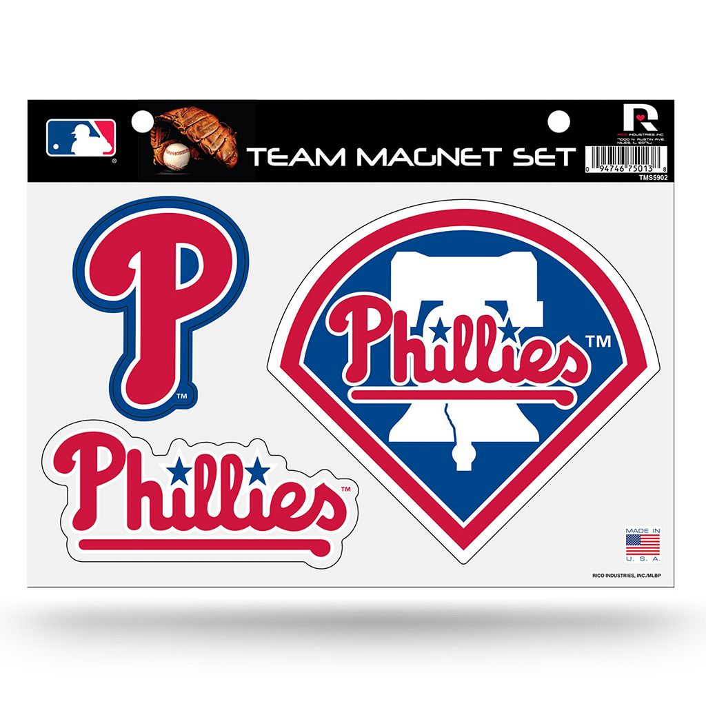 Philadelphia Phillies Team Magnet Set