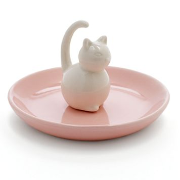 LC Lauren Conrad Cat Ring Holder Trinket Tray