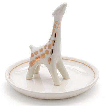LC Lauren Conrad Giraffe Ring Holder Trinket Tray