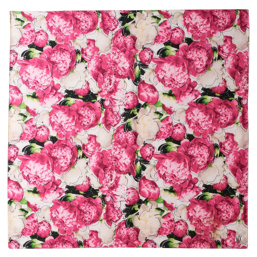 REED Peonies Square Scarf