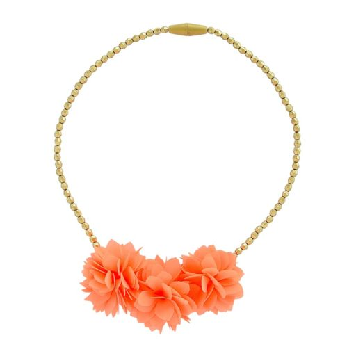 Toddler Girl Carter's Floral Rosette Beaded Necklace