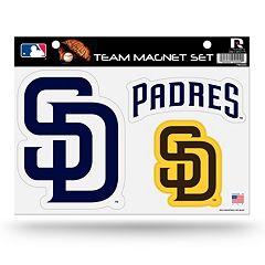 San Diego Padres Team Magnet Set