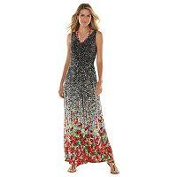 Women's Chaps Floral Empire Maxi Dress