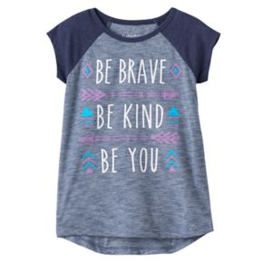 """Toddler Girl Jumping Beans® """"Be Brave, Be Kind, Be You"""" Graphic Tee"""