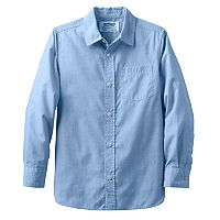 Boys 8-20 Urban Pipeline® Chambray Button-Down Shirt