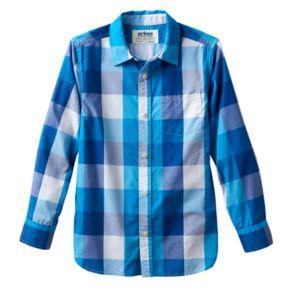 Boys 8-20 Urban Pipeline® Plaid Button-Down Shirt