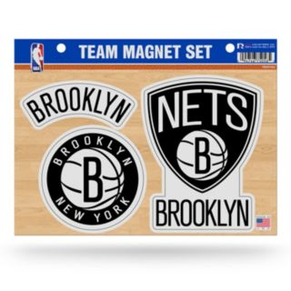 Brooklyn Nets Team Magnet Set