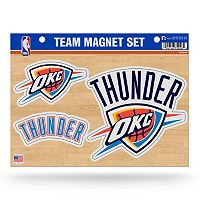 Oklahoma City Thunder Team Magnet Set