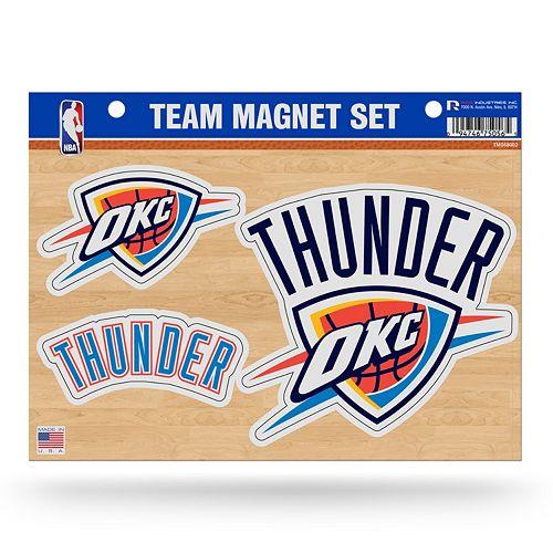 Oklahoma City Thunder Team Magnet Set