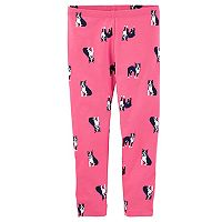 Girls 4-12 OshKosh B'gosh® French Bull Dog Print Leggings