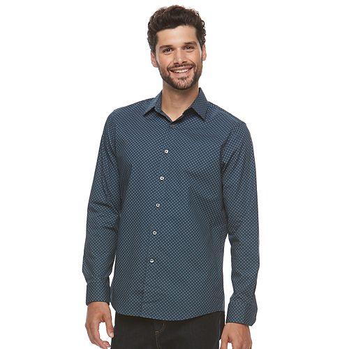 Men's Apt. 9® Premier Flex Slim-Fit Stretch Button-Down Shirt