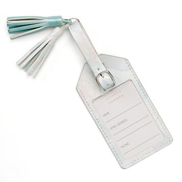 LC Lauren Conrad Tropical Tassel Luggage Tag