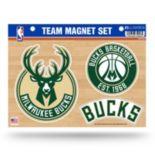 Milwaukee Bucks Team Magnet Set