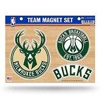 Milwaukee Bucks Team Magnet Set