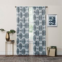 eclipse Olivia Thermaweave Room Darkening Window Curtain