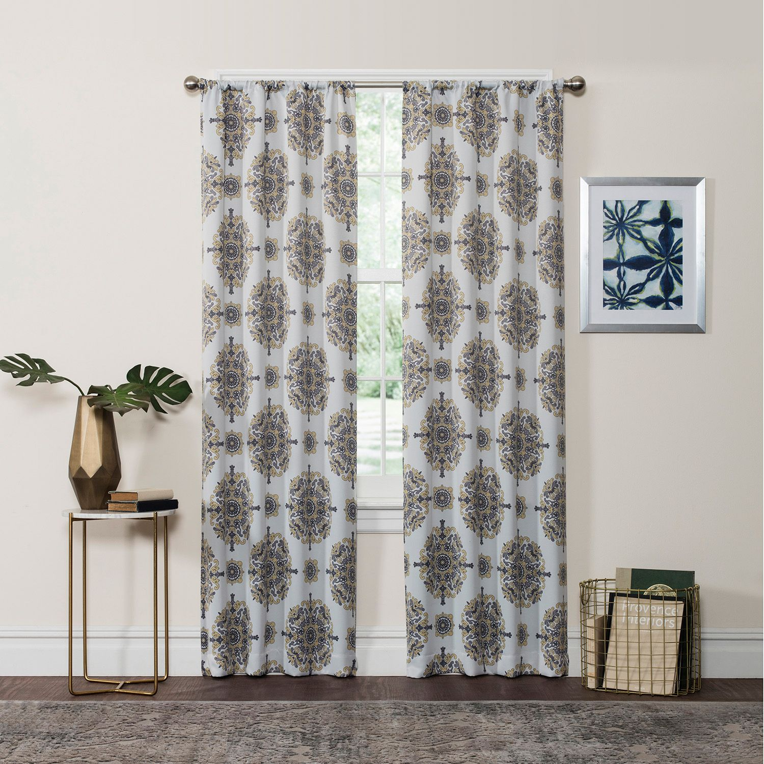 eclipse olivia thermaweave room darkening curtain