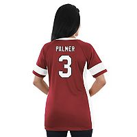 Women's Majestic Arizona Cardinals Carson Palmer Draft Him Fashion Top