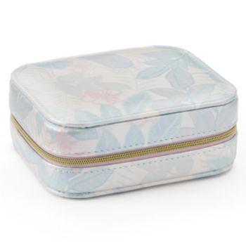 LC Lauren Conrad Tropical Portable Jewelry Box