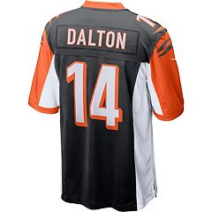 Men's Nike Cincinnati Bengals Andy Dalton NFL Alternate Replica Jersey