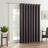 Eclipse Tricia Room-Darkening Patio Door Curtain