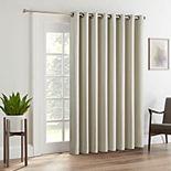 Eclipse Tricia Room-Darkening Patio Door Curtain