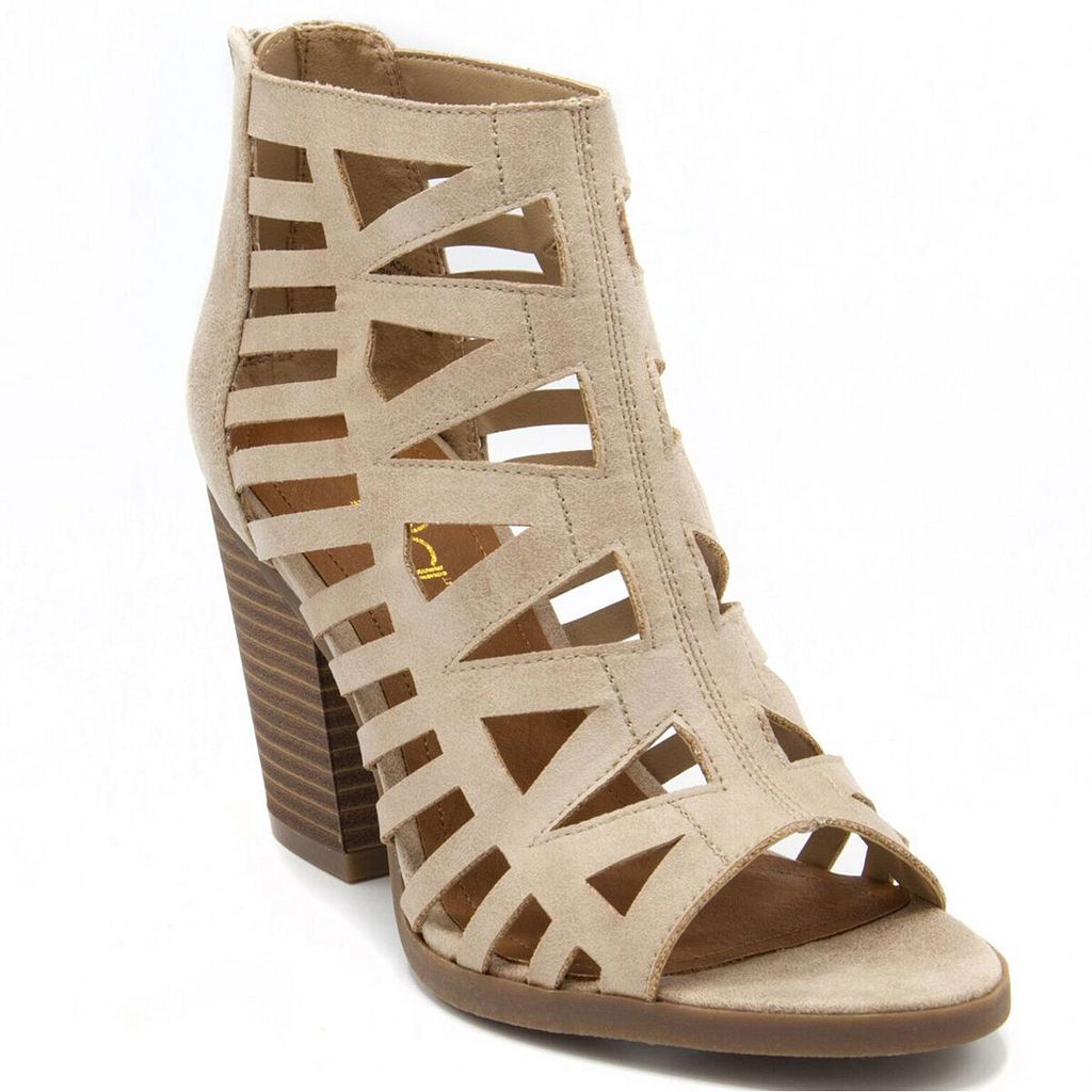 sugar Vacation Women's Block Heel Ankle Boots