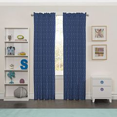 eclipse MyScene Set Sail Thermaback Blackout Window Curtain