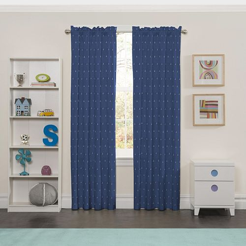 Eclipse Set Sail Blackout Window Curtain