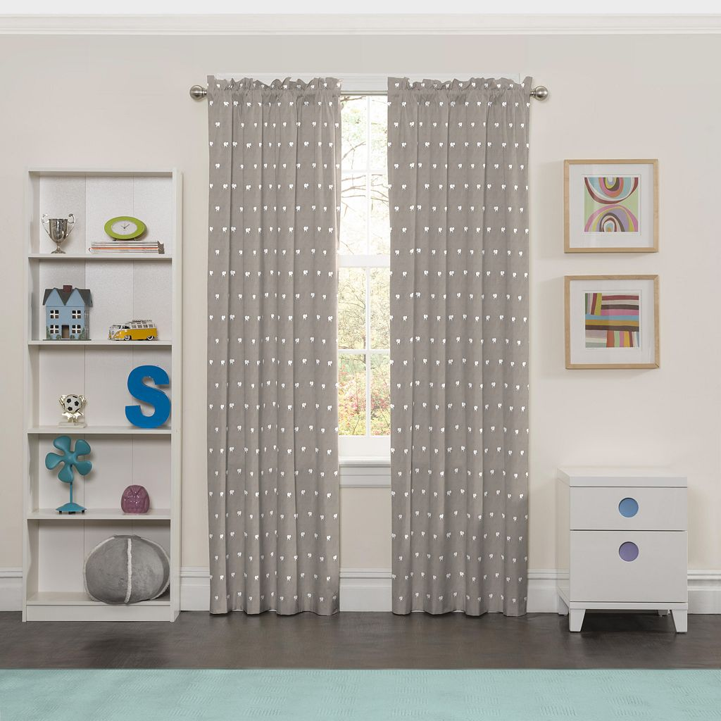 eclipse MyScene Peanut Pals Thermaback Blackout Curtain
