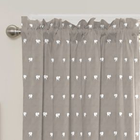 eclipse MyScene Peanut Pals Thermaback Blackout Window Curtain