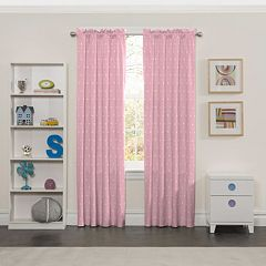 eclipse Thermaback Blackout 1-Panel MyScene Tiny Bella  Window Curtain
