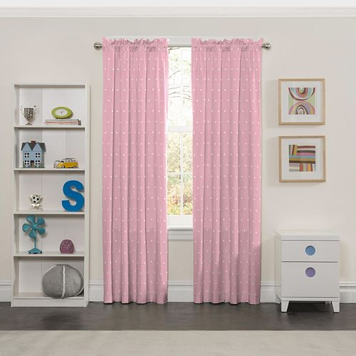 Eclipse Tiny Bella Blackout Window Curtain