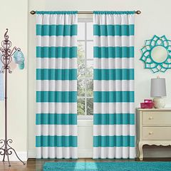 eclipse Thermaback Blackout 1-Panel MyScene Peabody   Window Curtain