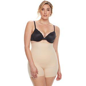 d82e040feeb30 Plus Size Maidenform Shapewear Curvy Firm High-Waist Thigh Slimmer ...