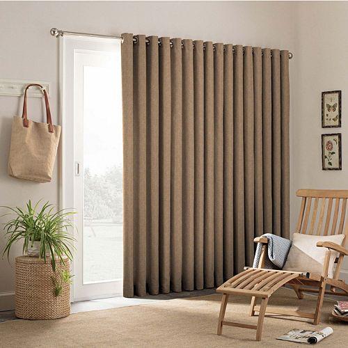 Waverly 1 Panel Key Largo Indoor Outdoor Patio Door Curtain