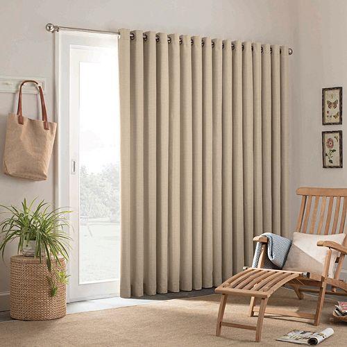 Parasol 1-Panel Key Largo Indoor Outdoor Patio Door Curtain