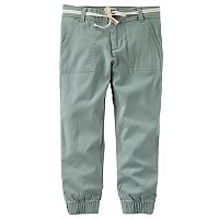 Girls 4-12 OshKosh B'gosh® Dobby Cinched Pants