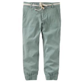 Girls 4-12 OshKosh B'gosh® Dobby Cinched Pants