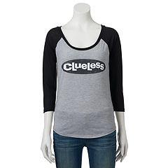 Juniors' Clueless Logo Graphic Tee