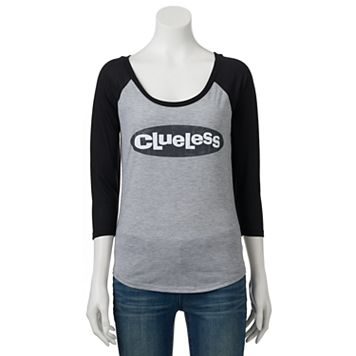 Juniors' Clueless Logo Graphic Tee