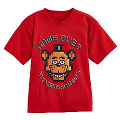 Boys 4-7 Five Nights at Freddy's 'Game Over' Graphic Tee