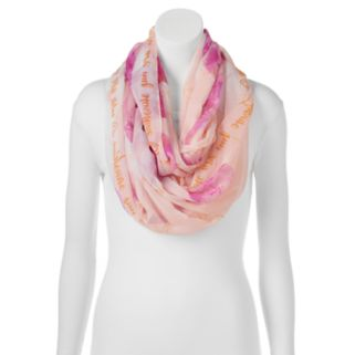 "love this life ""You Are My Sunshine"" Floral Infinity Scarf"