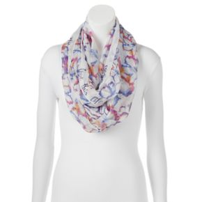 love this life Inspirational Hibiscus Infinity Scarf